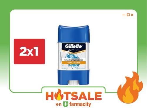 Gillette Desodorante Sport Triumph Antitranspirante en Gel x 82 gr