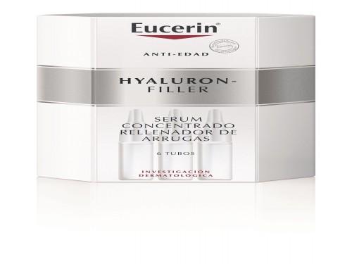 Serum Concentrado rellenador de arrugas Eucerin Hyaluron-Filler 6 Un.