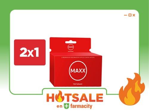 Preservativo Maxx Texturado x 6 Un