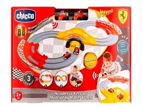 Chicco Pista De Carreras 3 En 1 009690 Escuderia  Ferrari