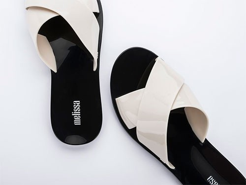 Sandalias de mujer Melissa Essential Slide Adulto PVC Brasil