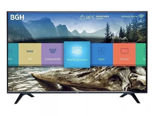 "Smart Tv 50"" 4K UHD USB HDMI HDR Netflix Youtube BGH"