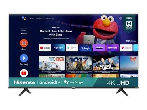 "Smart TV 50"" UHD 4K HDR Netflix Youtube Hisense"