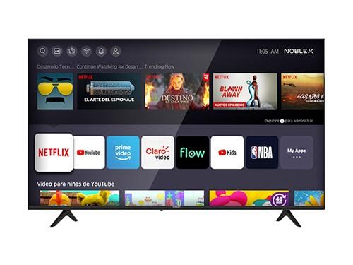 "Smart TV 55"" 4K UHD Netflix Youtube Hdmi Usb Noblex"