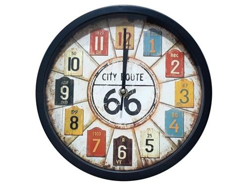 Reloj De Pared Clasico Analogo 25cm M12 - Hot Sale