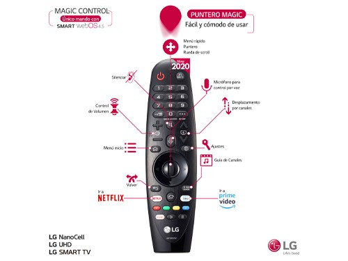 "Smat TV 43"" 4K UHS Q-Core HDR Wes os HDMI USB LG"