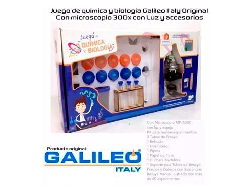 Galileo Juego De Química Y Biología Jqb-1000