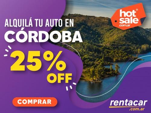 Alquiler de autos en Córdoba, al mejor precio.