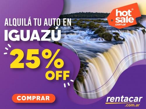 Alquiler de autos en Iguazú al mejor  precio,