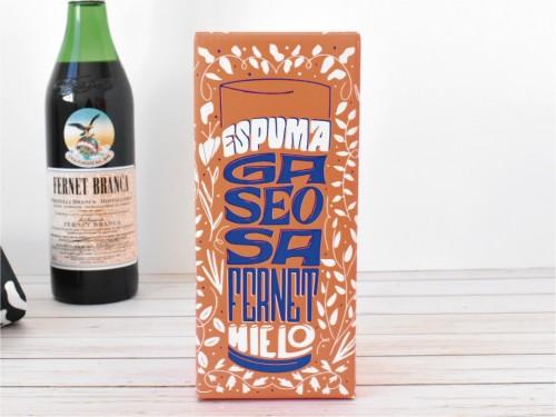 Vaso Fernet con packaging