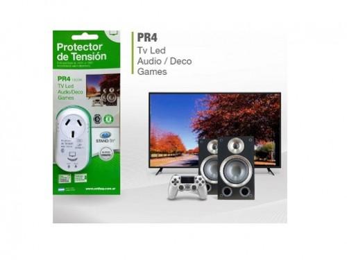 Protector de tensión PR4 mini para TV/audio/juegos