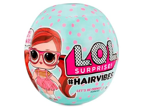 Muñeca Lol Surprise Hairvibes Con Pelo 564744