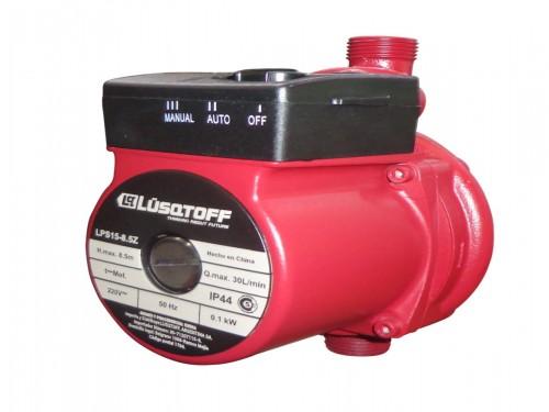 Bomba Agua Presurizadora 2 Baños 8.5 30l Lusqtoff LPS15-8.5Z