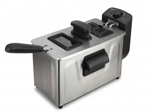 Freidora Eléctrica Daewoo Df5120 - 1800w - 3lts De Capacidad