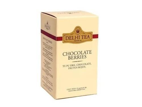 Té Chocolate Berries  20saq Delhi Tea -40%