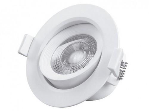 Spot redondo orientable empotrable LED 7W Macroled blanco frío