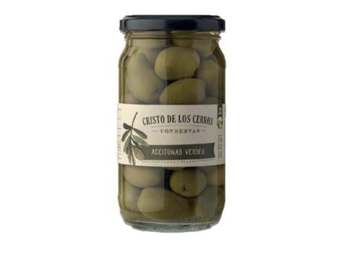 Aceitunas Verdes en Salmuera 350rg Cristo de los Cerros -20%