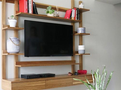 Mueble para TV ASPEN. Fabricación a pedido. Viene en dos medidas.