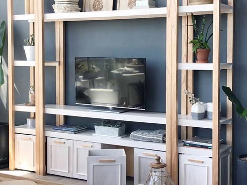 Mueble para TV CATANIA. Fabricación a pedido. Viene en dos medidas.