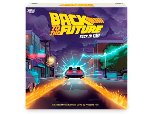 Funko Games Back To The Future Back In Time 487200