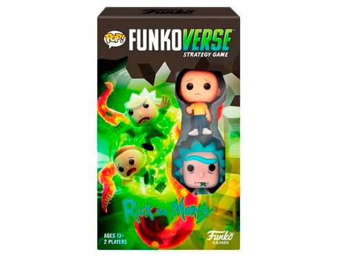Juego Funko Pop Games Funkoverse Strategy Rick And Morty 101 42634
