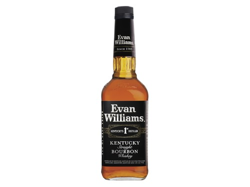 Whiskey Bourbon Evan Williams Black 25% de descuento