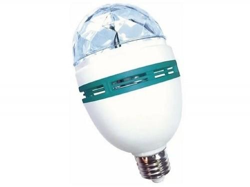 Bulbo LED giratorio Party Lamp 3W E27 TBCin RGB