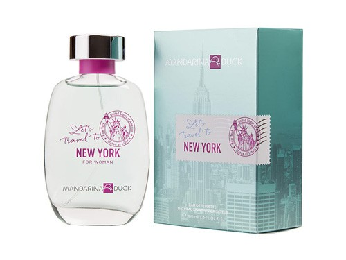 Mandarina Duck Let´s Travel To New York Woman EDT 100 ml
