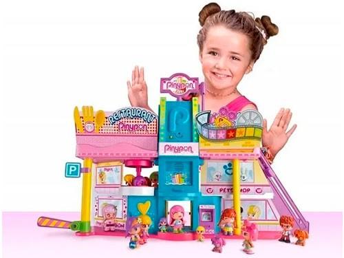 Pinypon Súper Shopping Con Figuras Con 80 Accesorios P14261
