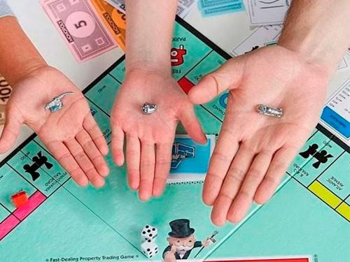 Juego De Mesa Monopoly Classic Tokens De Metal Hasbro