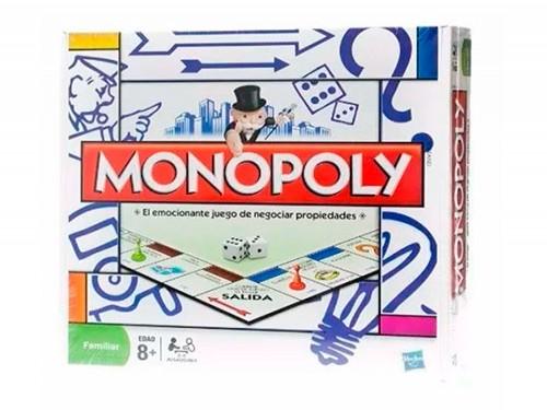 Juego De Mesa Monopoly Popular Familiar Hasbro