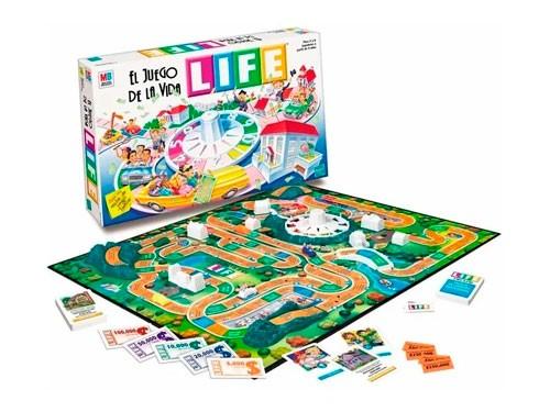 Juego De Mesa Juego De La Vida Life 3013