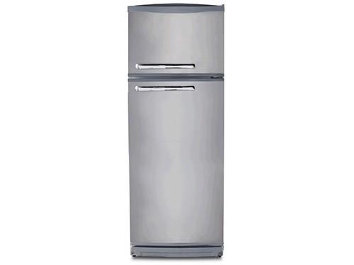 Heladera Con Freezer CONQUEROR 329 Lts Plata 2F-1600Pa