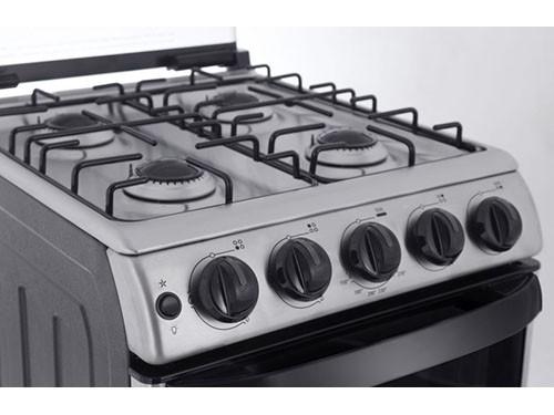 Cocina Multigas CP9750I 4 Hornallas  50 CM Inox PATRICK