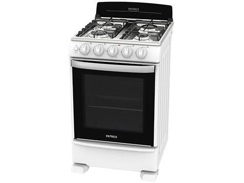 Cocina Multigas CP6855B 4 Hornallas 55 CM PATRICK