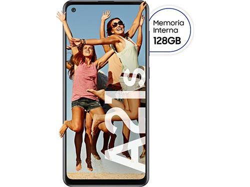"""Celular Libre A21S Negro 6,5"""" 128 GB SAMSUNG"""