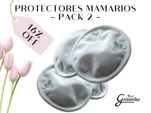 Protectores Mamarios Pack 2 GRINNIBE