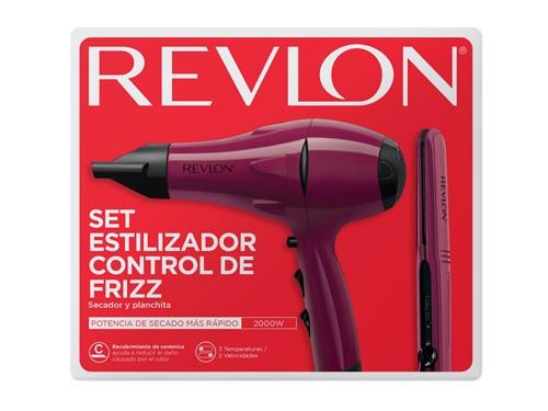Kit Secador + Planchita Essentials - Revlon