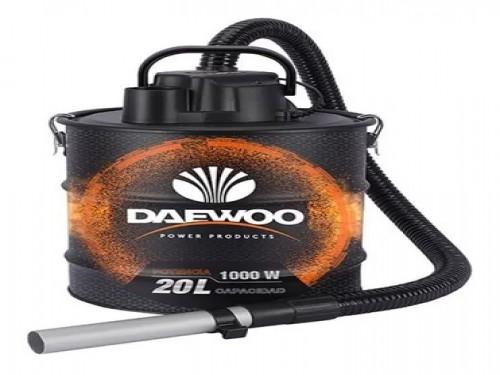 Aspiradora Cenizas Daewoo 1000w 20lts Filtro Hepa Metalica