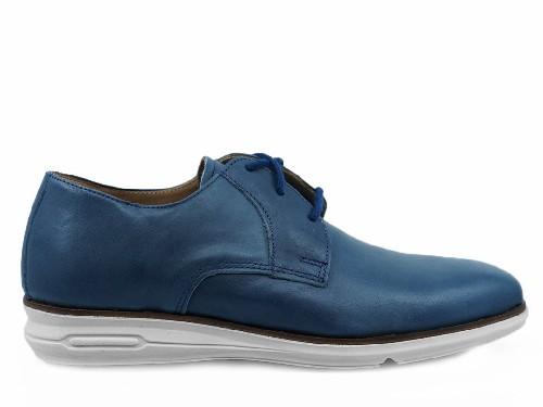 Zapatos de Vestir de Hombre Galicia 713D Blue