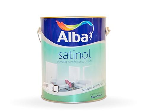 Satinol Esmalte sintético Satinado 4 lts - ALBA