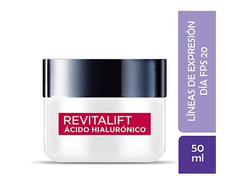 Crema Día L'oréal Paris Revitalift Ácido Hialurónico 50ml