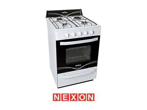 Cocina a Gas 56 cm Blanca Florencia 5516F