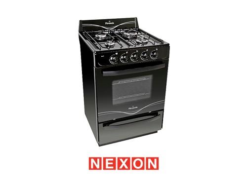 Cocina a Gas 56 cm Negra Florencia 5517F