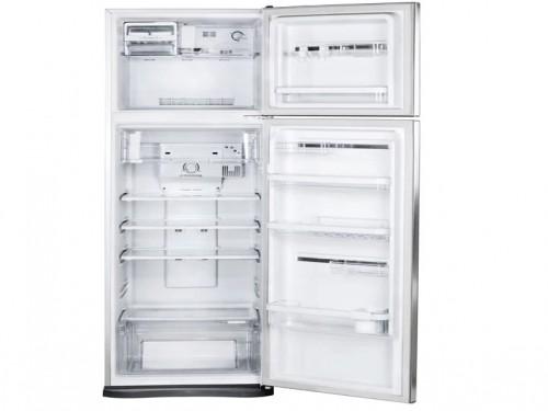 Heladera No Frost con Freezer Plateada 350 lt Electrolux