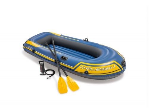 Bote Gomón Inflable Intex Challenger 2 Set 23828/7