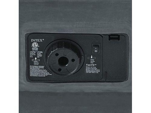 COLCHON IN ELECTRICO DURA-BEAM INTEX 152X203X 46 CM GDE DELUXE 25056/2