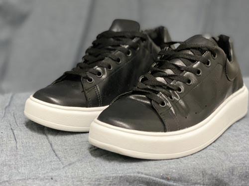 Zapatillas P.U, suela de base alta de caucho
