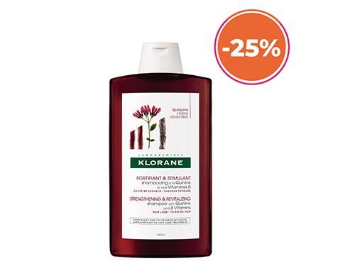 Shampoo Anti-caida Quinina Klorane 400ml