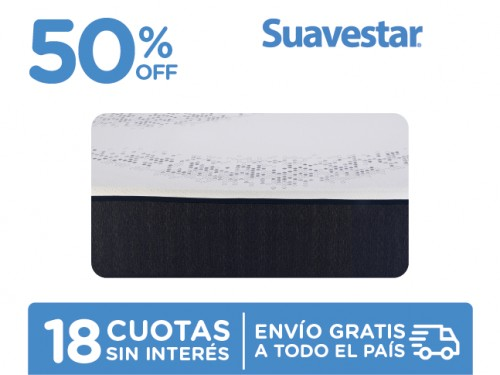 Colchón Suavestar Stress Free 190x140 En Caja 2 Plazas